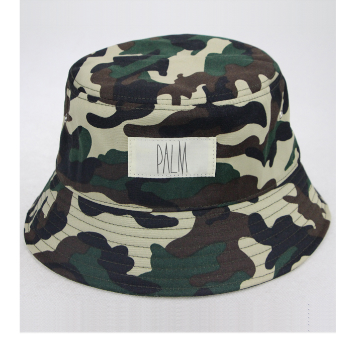 wholesale custom camo orange football folding reversible outdoor sun bucket  hat d7f3e8e25c0