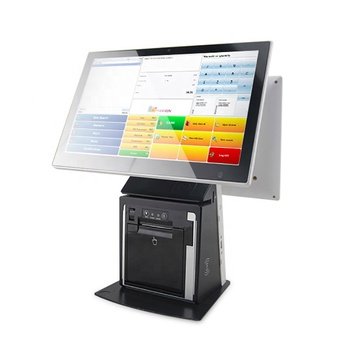 15.6 inch android pos terminal with printer pos system