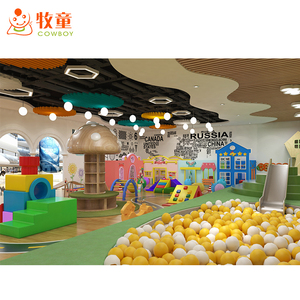 2019 Latest style kids indoor activity room furniture stainless steel ball pool baby exercise gyms for childcare pre school