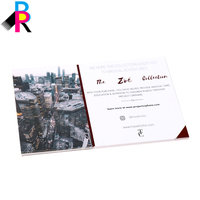 Cheap Custom Full Color Offset Printed Greeting Postcards Card