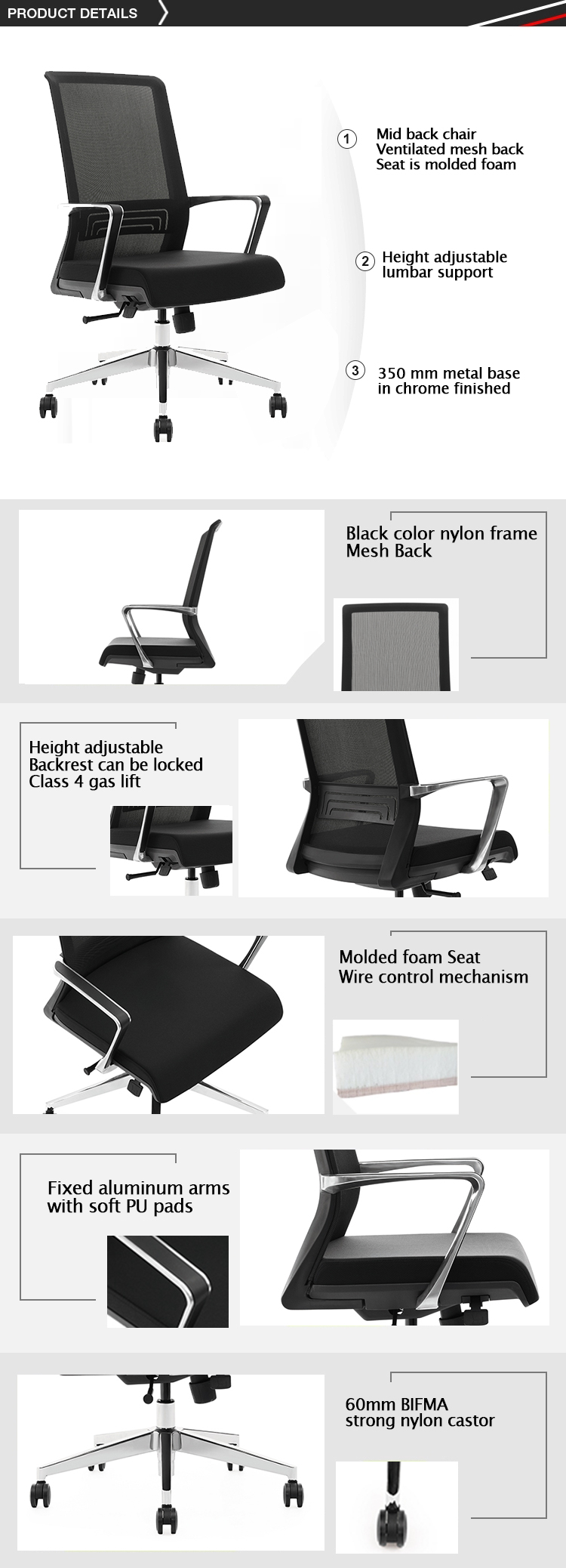 2019 new design office chair executive chair from VASEAT