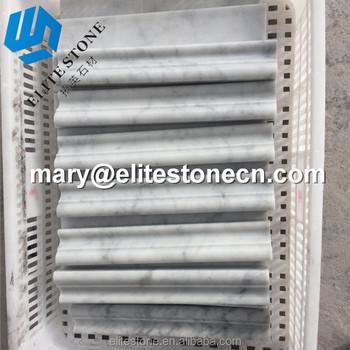 Wall Inlay Carrara White Marble Moulding - Buy Chinese Carrara Marble,Chair  Rail Trim Molding,Carrara White 2-1/2x12 Chair Rail Trim Molding Product