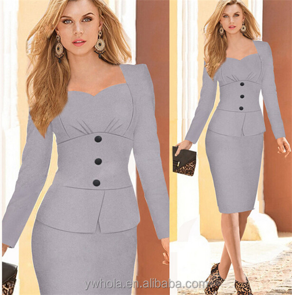 12d99612122f7 China Business Casual Dresses, China Business Casual Dresses Manufacturers  and Suppliers on Alibaba.com
