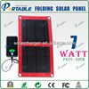 7W Multifunction Foldable Solar Charger For Mobilephone/GPS/PSP