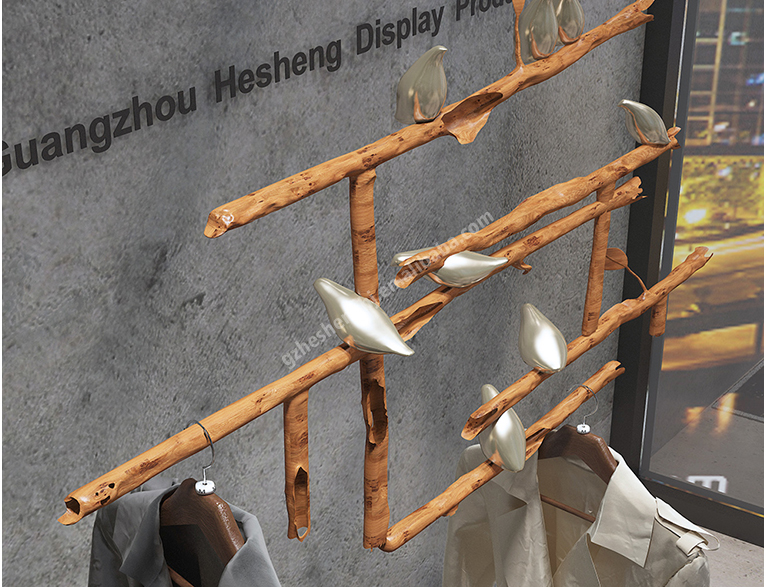 High rack.shop window display fixtures. industrial style HA01C03