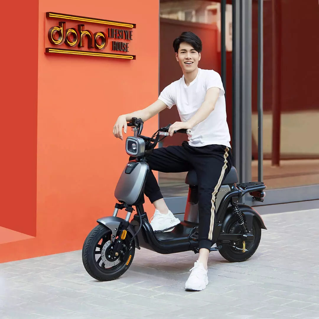 Original Xiaomi HIMO T1 14 Inch 48V 350W 14Ah/28Ah Lithium Battery 60-120km Max Speed 25km/h Electric Bicycle Bike Motorcycle