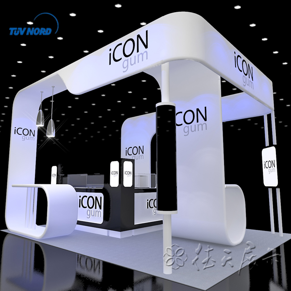 Cosmetic Exhibition Stand Design : Detian offer exhibition stand equipment stall and booth design