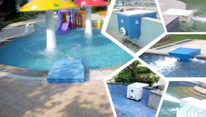 Carton fair pipeless swimming pool combo filter for kids pool 0.6-1m