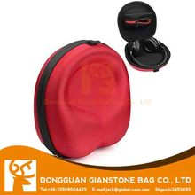 Comfortable protective computer headphone zippered case