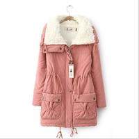 EY0106C 2015 Winter women's coat fancy big fur long overcoats Women Winter Coats