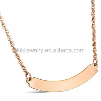 in chain locking and necklace necklaces eternity steel stainless collars