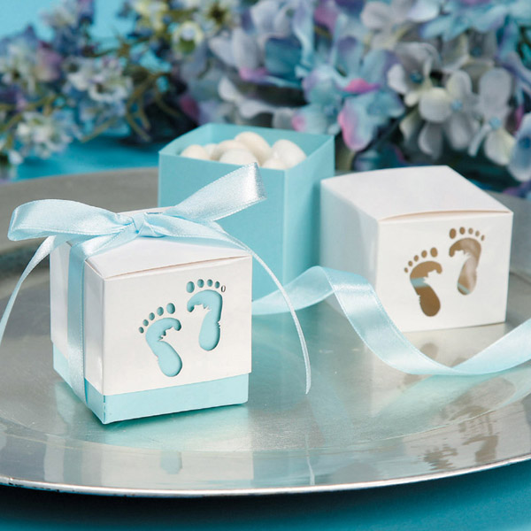 Customize design baby shower gift box set chocolate window candy fb1002 20 1g negle Gallery