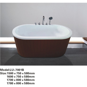 Cheap india used wood skirts freestanding bathtubs from poland