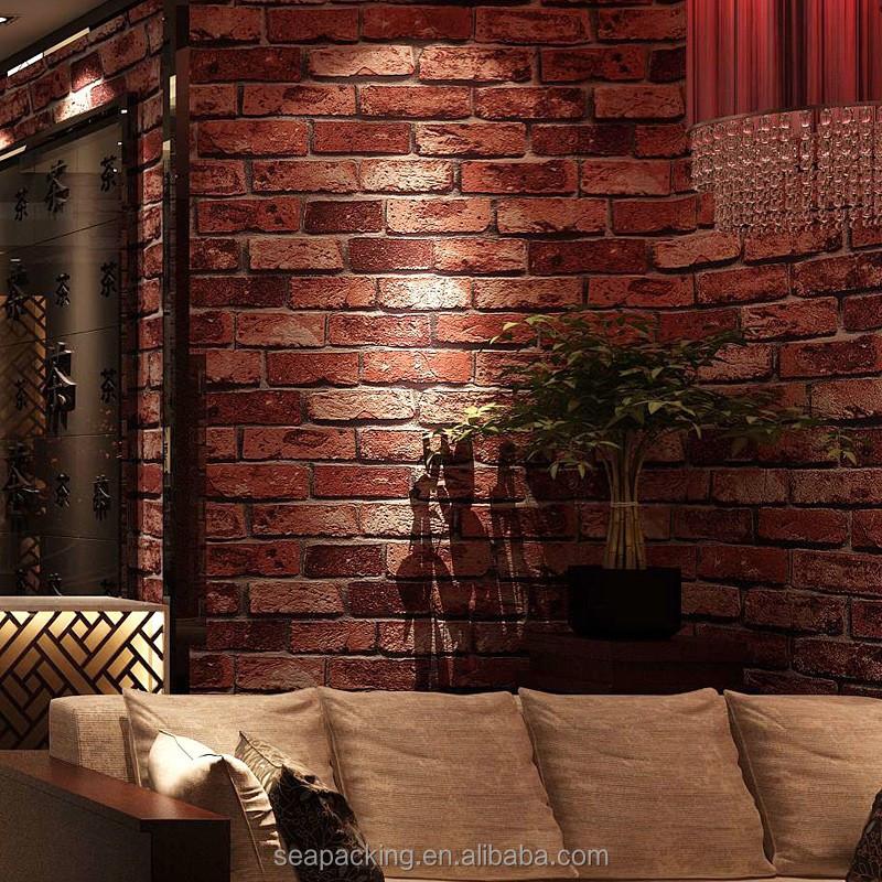 3d Brick Wallpaper, 3d Brick Wallpaper Suppliers And Manufacturers At  Alibaba.com