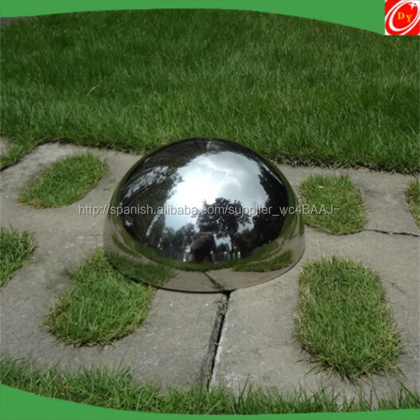 "12"" hemispherical mirror (70 x 58 x 26 inches)"