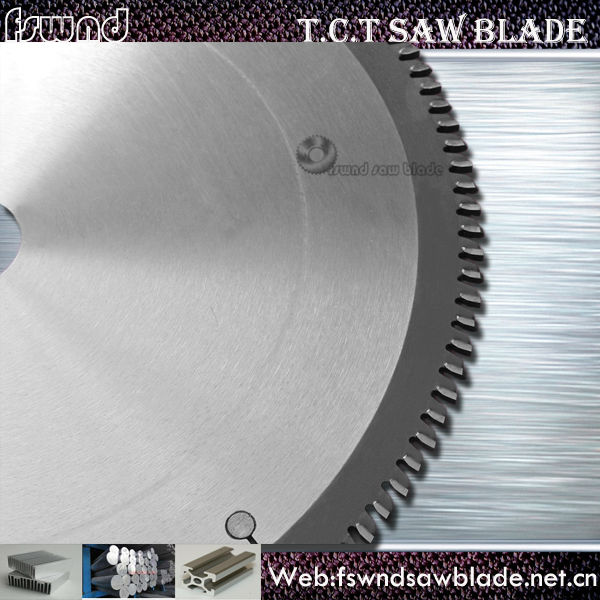 tungsten carbide tipped circular saw blades for Non-ferrous Metals pipe cutting