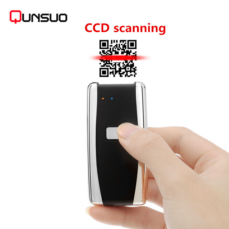 S01 Mini portable scanner Android embedded bar qr code module for courier scanning