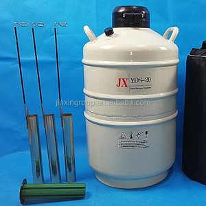 YDS-15 small capacity liquid nitrogen dewar flask, cryogenic cold storage freezing tank price