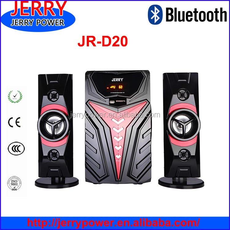 2.1 Home Theater Speaker System Channels And Wireless System ...