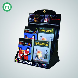 POS Corrugated Comic Book Display Rack, Cardboard Book Counter Display