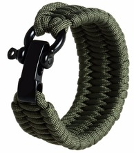 2016 hot <span class=keywords><strong>koop</strong></span> populaire 550 parachute cord militaire 7 strengen aangepaste survival 550 paracord voor paracord armband