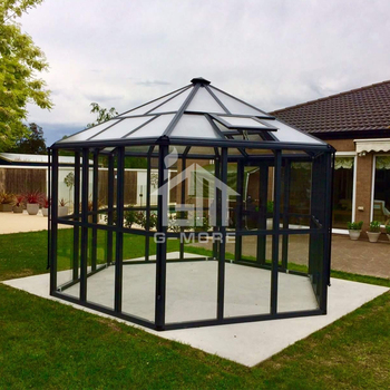G-MORE Hexagonal Super Strong Luxury Aluminium Glasshouse