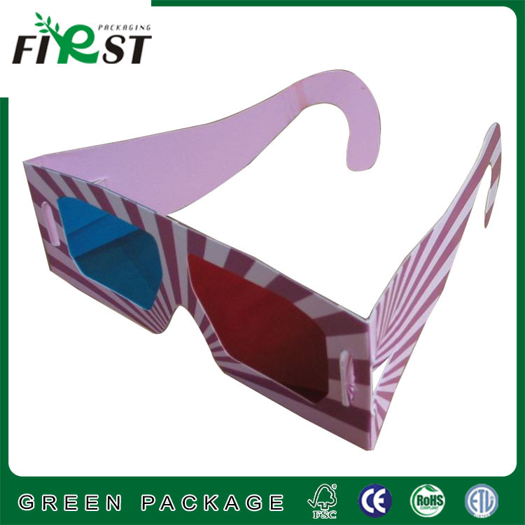 paper fireworks 3d glasses for promotional,custom paper anaglyph 3d glasses,promotional paper 3d glasses