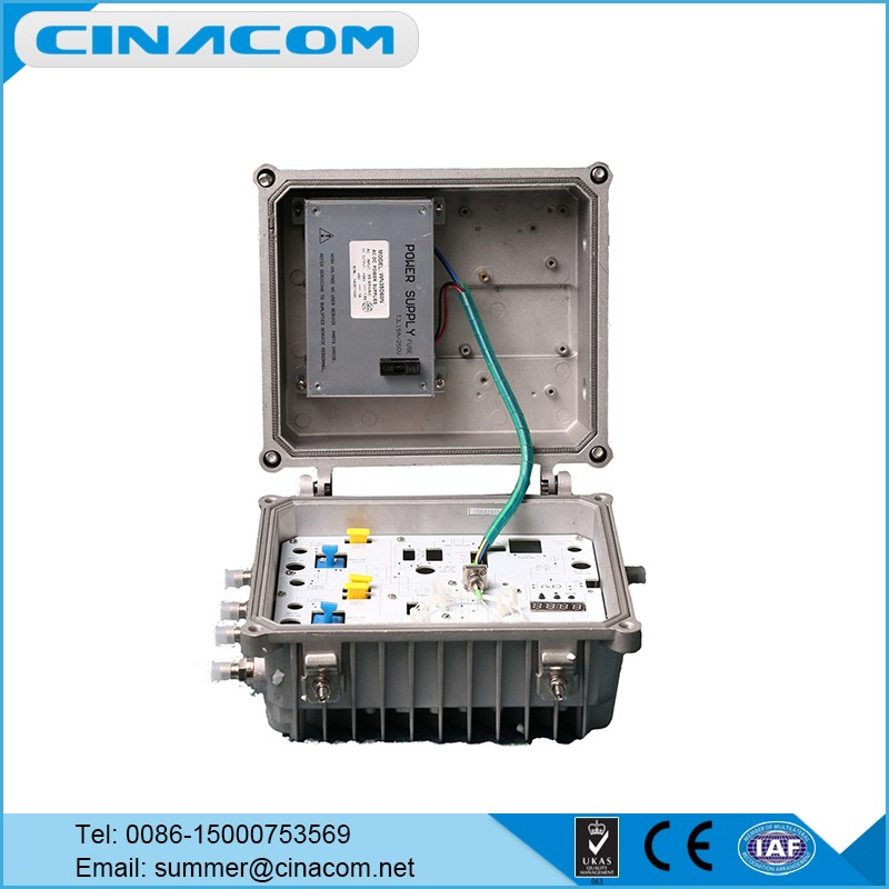 Cable TV 4 Outputs Optical Recever/ CATV Equipment