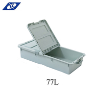 Waterproof Wholesale Customized Plastic Open Food Kids Tools Storage Box