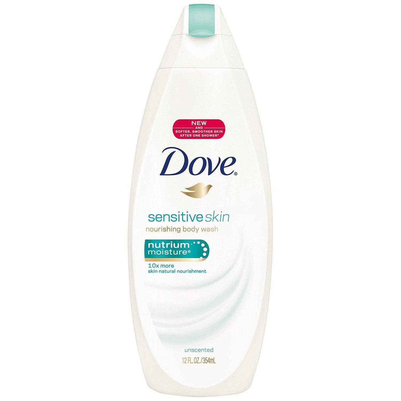 Dove Body Wash, Sensitive Skin (12 Ounce)