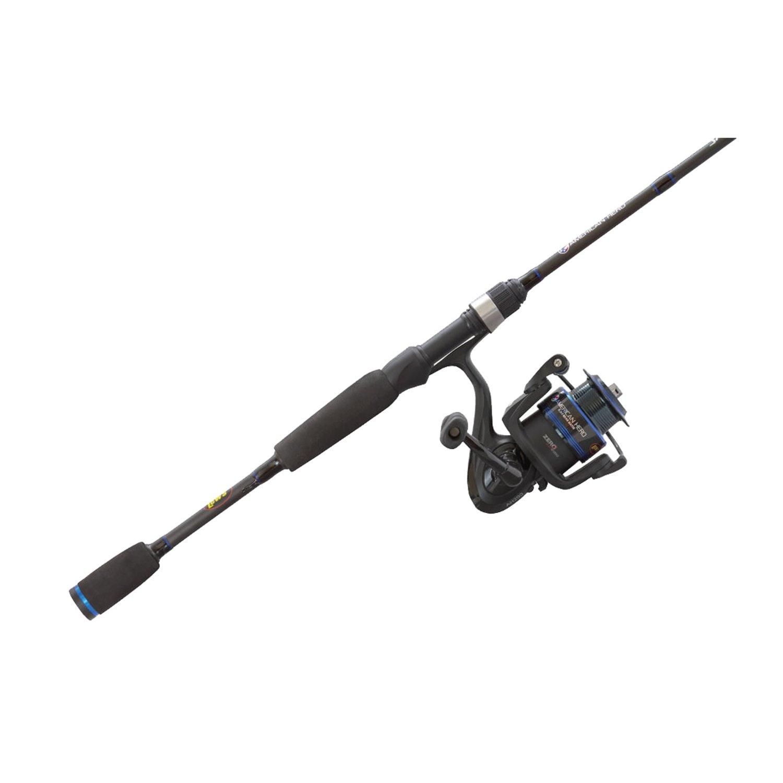 Lew's Fishing American Heroes Speed Spool Spinning Combo, 7'/ Medium / 160 yd / 12 lb / 6.2:1
