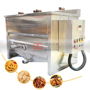 Commercial Gas Electric Double Basket Dough Nut Deep Fryer for Doughnuts