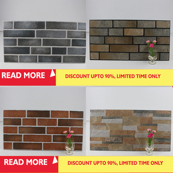 Low Price House Front Wall Tiles Design Clay Brick Look Wall Tiles