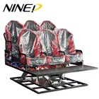 Attractive amusement park 5d game equipment used cinema equipment