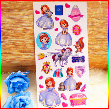 Princess Temporary Tattoos/cartoon Body Tattoo Sticker For Kids ...