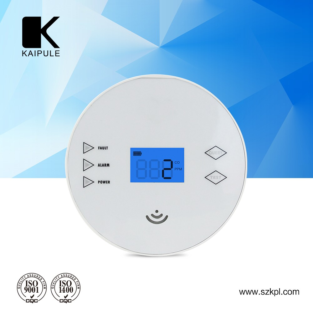 CE RoHs approval wholesale personal electronic carbon monoxide detector for smoke