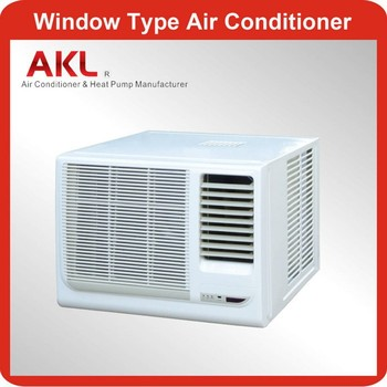 Mini 1 ton window type air conditioner with r410a gas for 20 inch window air conditioner