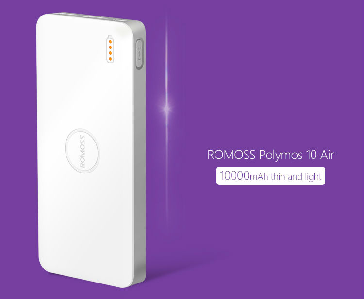 ROMOSS Polymos 10 Air Power Bank 1