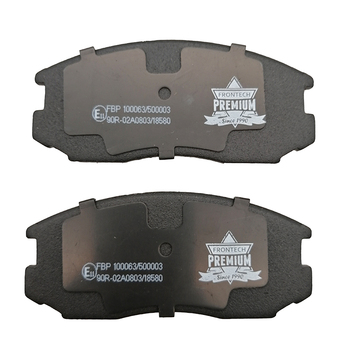 Genuine front ceramic brake pads for toyota