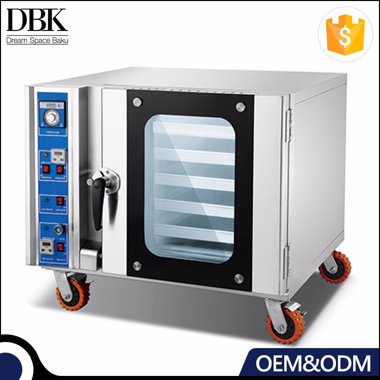 5 Pan Digital Forced Air Convection Oven bakery equipment Electric Oven