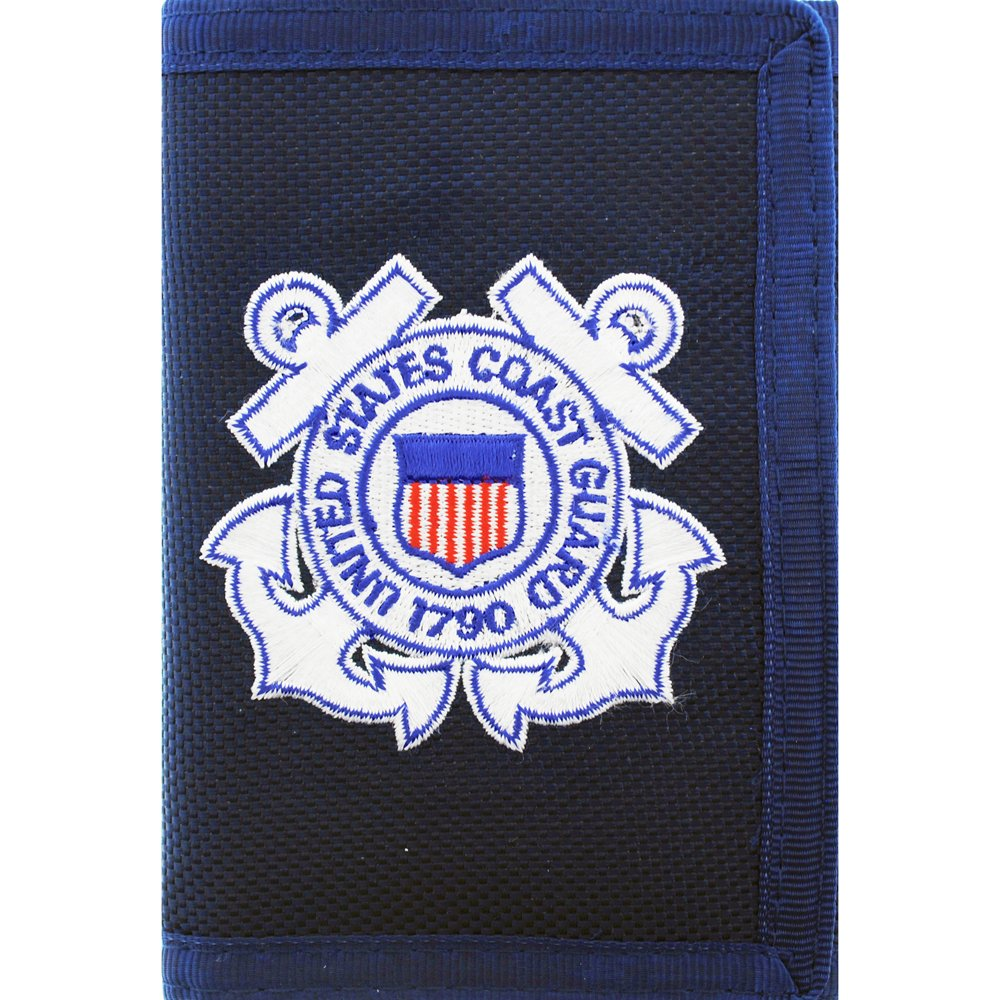 b6d8f391 Get Quotations · US Coast Guard Wallet Military Collectibles, Patriotic  Gifts for Men, Women, Teens,