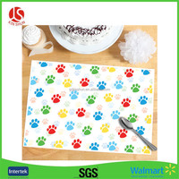 Table setting Disposable Children's Interactive Placemat