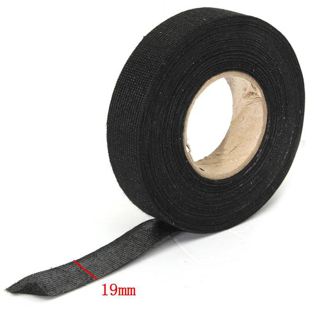 25mmx15m Adhesive Cloth Tape For Harness Wiring Loom Car Wire Harness Tape