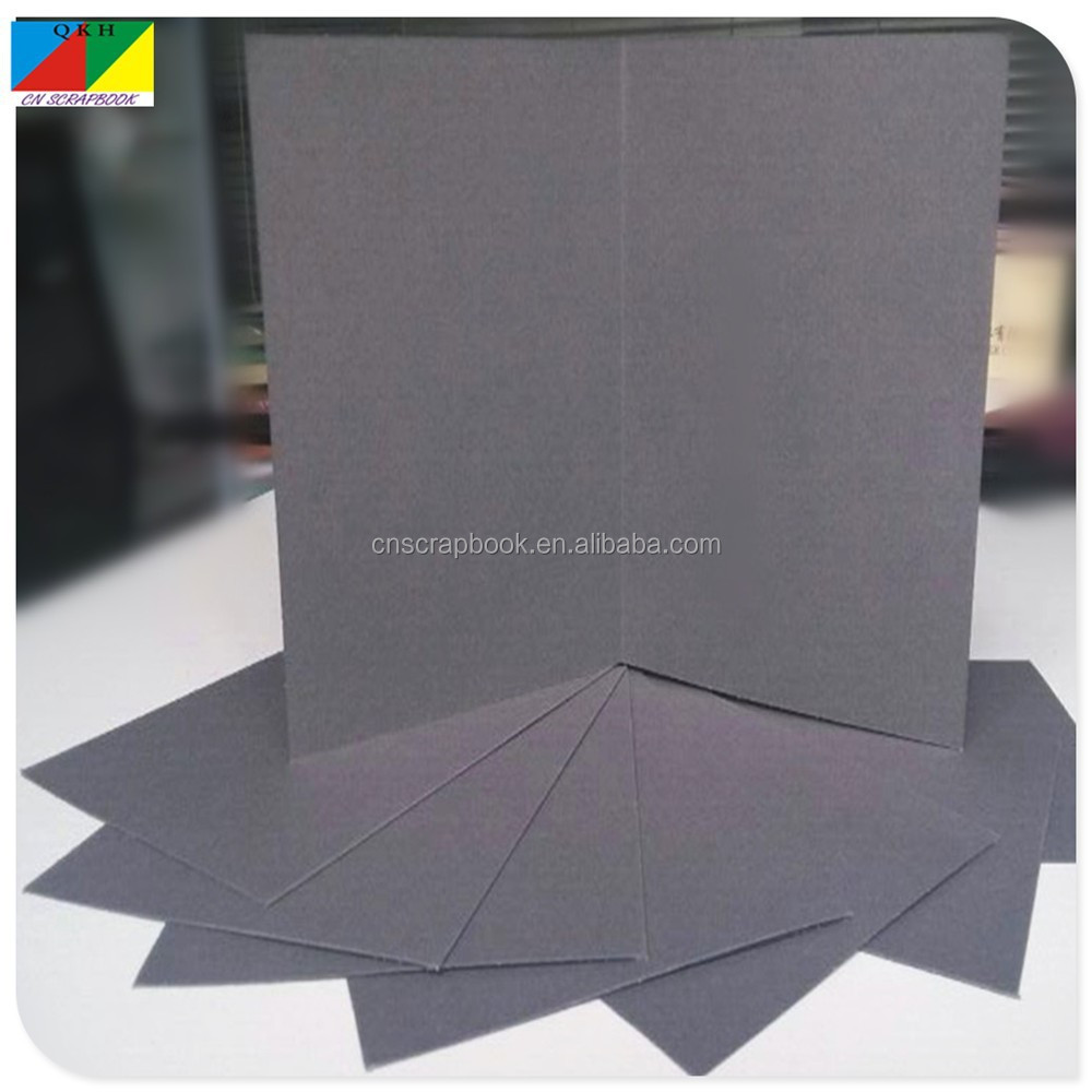 Grey color blank recordable greeting card
