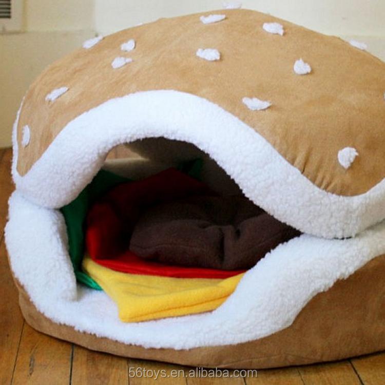 en gros en peluche chien lit populaire pet produit en peluche pet grotte pour l 39 exportation lits. Black Bedroom Furniture Sets. Home Design Ideas
