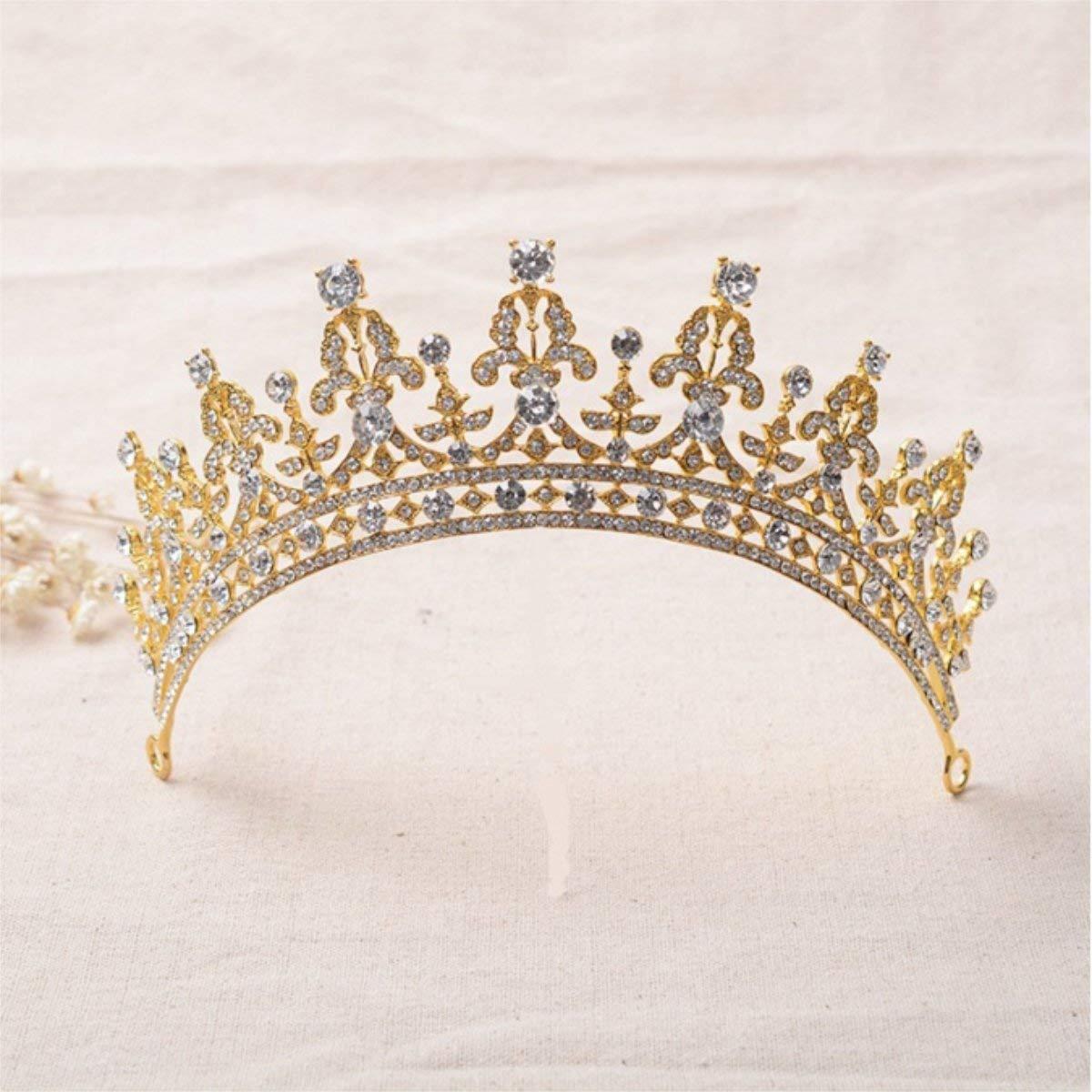 ... Hair Accessories Bridal Jewelry (Silver) 10.99. FUMUD Red Clear Wedding  Bridal Crystal Tiara Crowns Princess Queen Pageant Prom Rhinestone Tiara ... 5877bb4c3a79