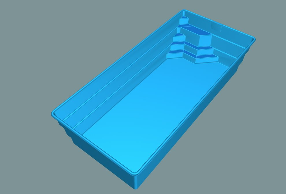 Pool - Swimmig Pool - Fibreglass Swimming Pool - Bazen - Sklolaminat - Buy  Fibreglass Swimming Pool Product on Alibaba.com