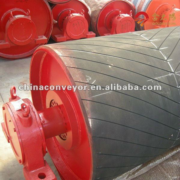 conveyor system components drive drums /pulleys