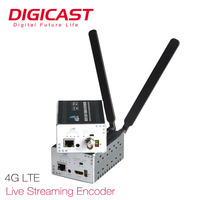 4G LTE Stream RJ45 Video Encoder WIFI with Built-in Battery HD SDI 4G Live Streaming Video Encoder