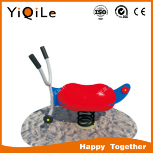 Hot selling PE board rocking horse swings for toddlers with springs YQL-1001172